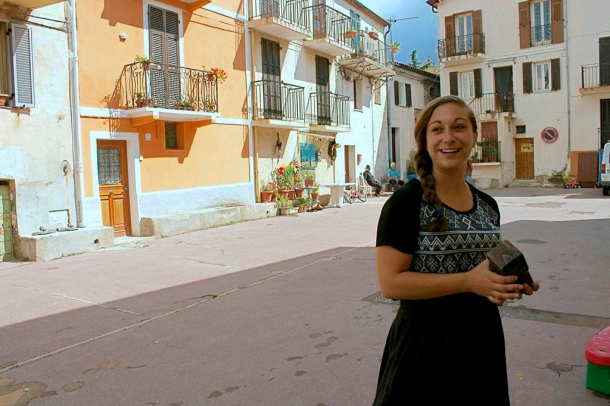 ieiMedia student Sara Cimetta wrote a story on the growing of organic olives in France.  © 2014 Larissa Jackson