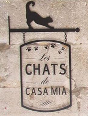Logo for Les Chats des Casa Mia